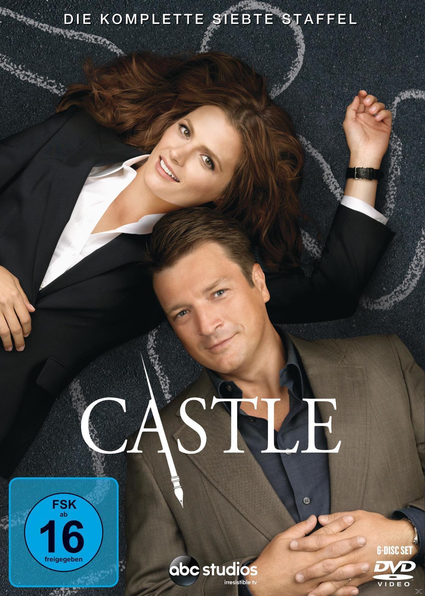 Castle - Staffel 7 DVD-Box (DVD) für 13,99 Euro