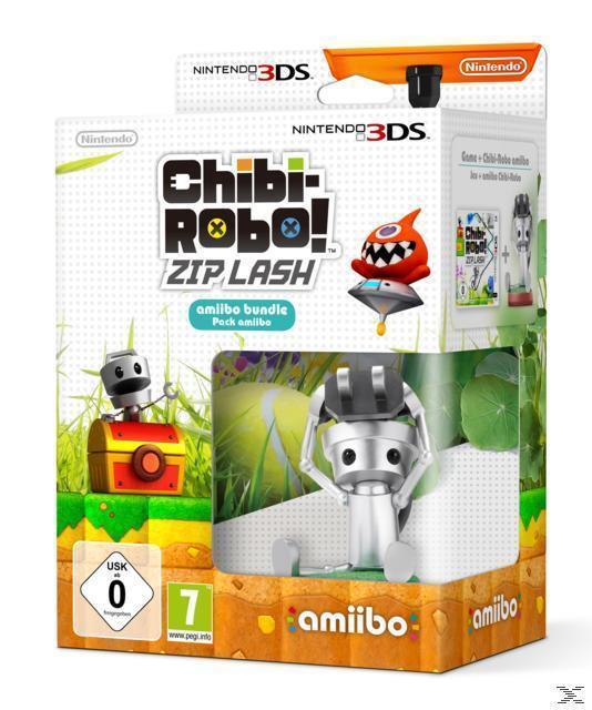 Chibi-Robo! Zip Lash + amiibo (Nintendo 3DS) für 19,99 Euro