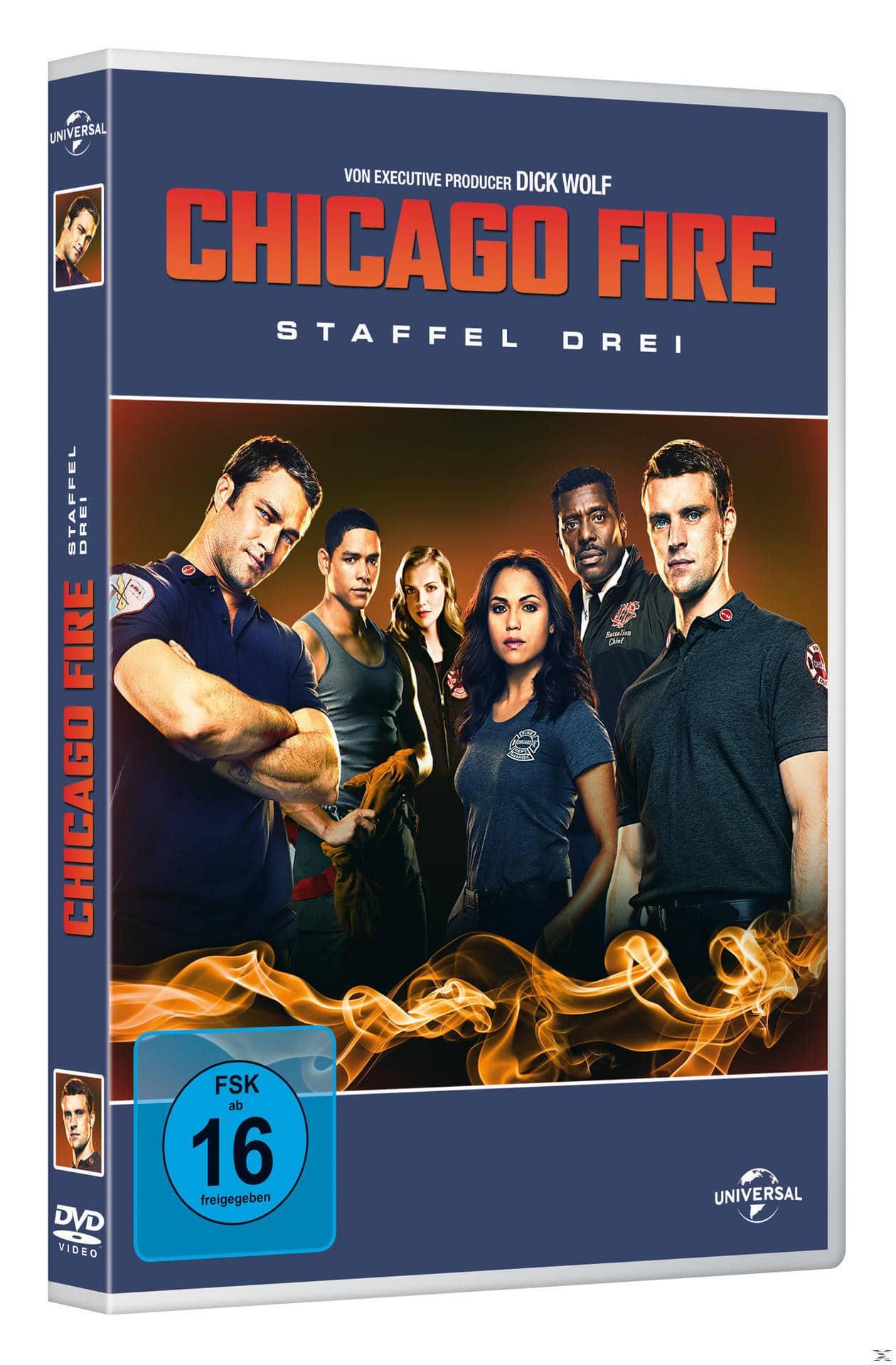 Chicago Fire - Staffel 3 DVD-Box (DVD) für 19,99 Euro