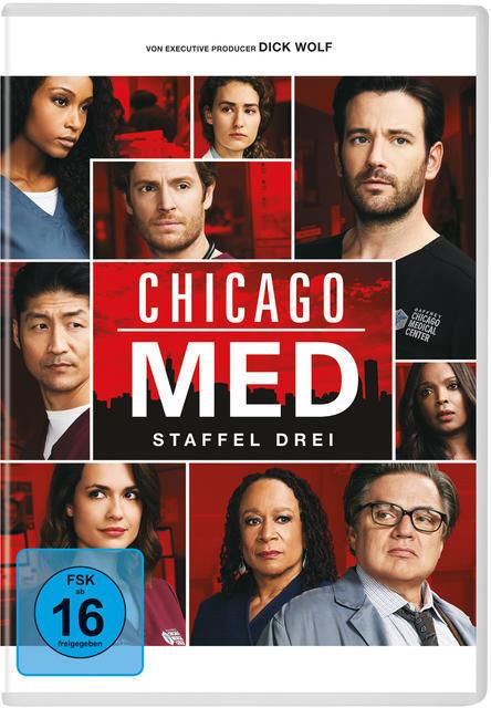 Chicago Med - Staffel 3 DVD-Box (DVD) für 17,54 Euro