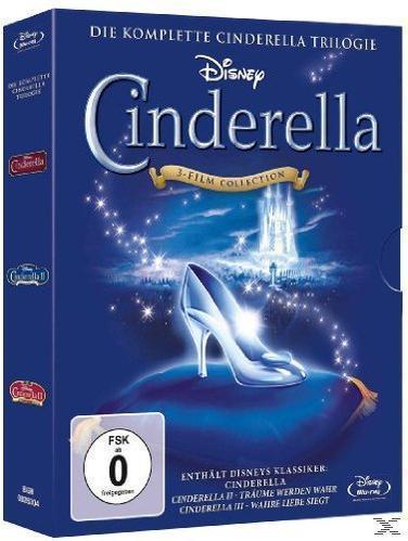 Cinderella - Die komplette Trilogie (BLU-RAY) für 39,99 Euro
