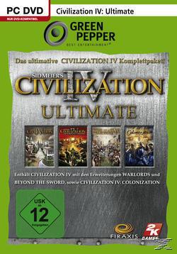 Civilization 4: Ultimate (Green Pepper) (PC) für 6,99 Euro