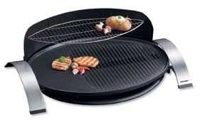 Cloer 6589 Barbecue-Grill antihaftbeschichtete ovale Grillfläche 38x52,5cm für 129,00 Euro