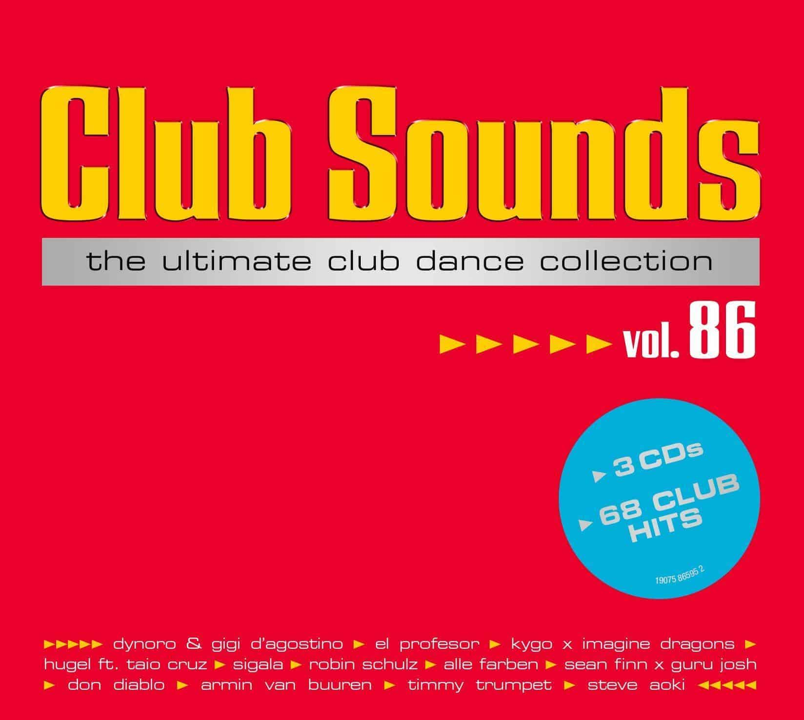 Club Sounds,Vol.86 (VARIOUS) für 19,99 Euro