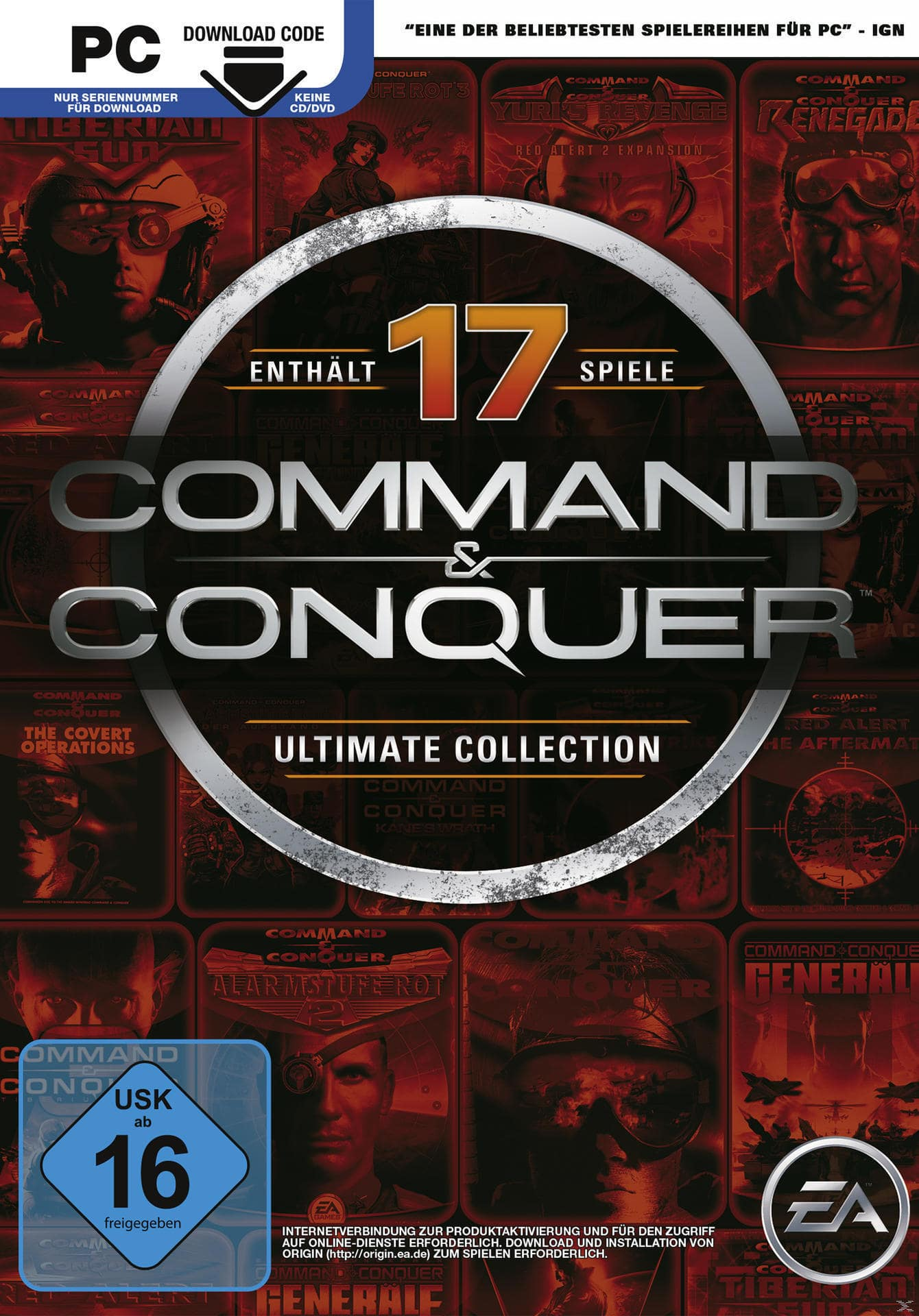 Command & Conquer Ultimate Collection (PC) für 15,00 Euro