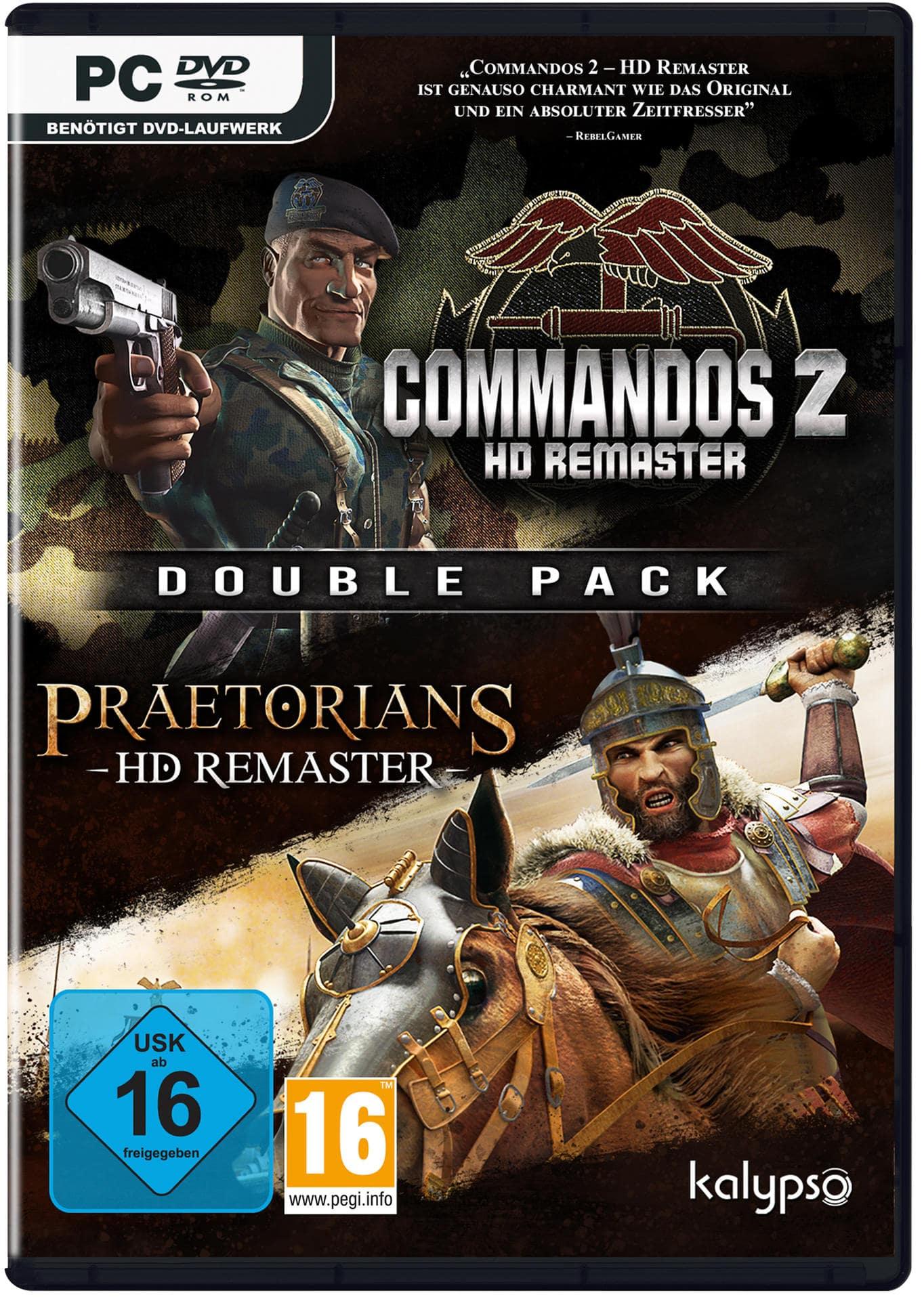 Commandos 2 & Praetorians: HD Remaster Double Pack (PC) für 39,99 Euro
