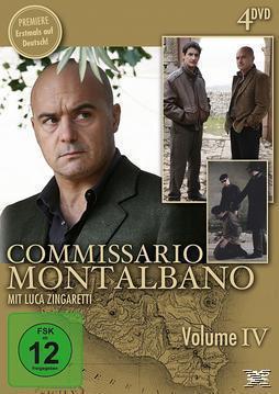 Commissario Montalbano - Vol. 4 DVD-Box (DVD) für 9,74 Euro