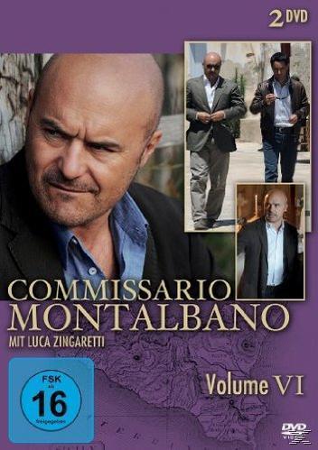 Commissario Montalbano - Volume VI (DVD) für 9,74 Euro