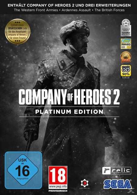 Company of Heroes 2 - Platinum Edition (PC) für 9,99 Euro