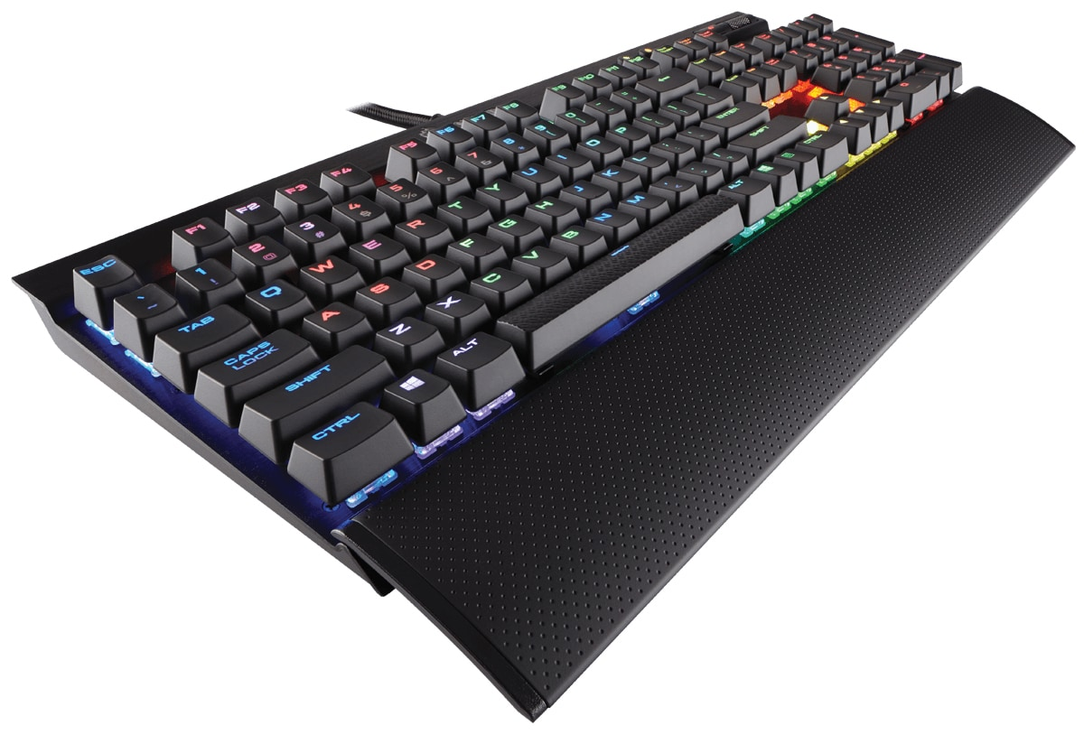 Corsair K70 RGB RapidFire Gaming-Tastatur Cherry MX Speed Anti-Ghosting für 159,00 Euro