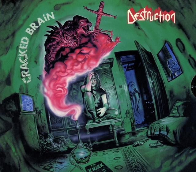 Cracked Brain (Slipcase,Poster) (Destruction) für 17,54 Euro