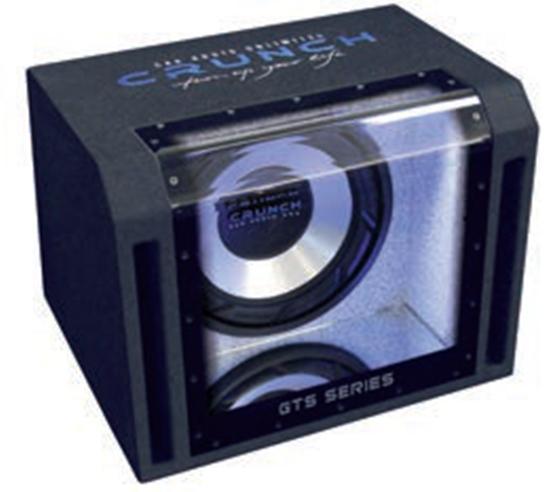 Crunch GTS400 Subwoofer Bandpass-System 30cm 400/800W 143dB für 189,00 Euro