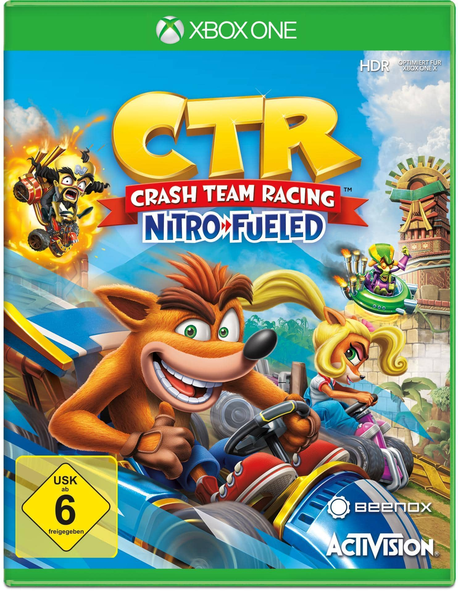 CTR Crash Team Racing Nitro Fueled (Xbox One) für 32,99 Euro