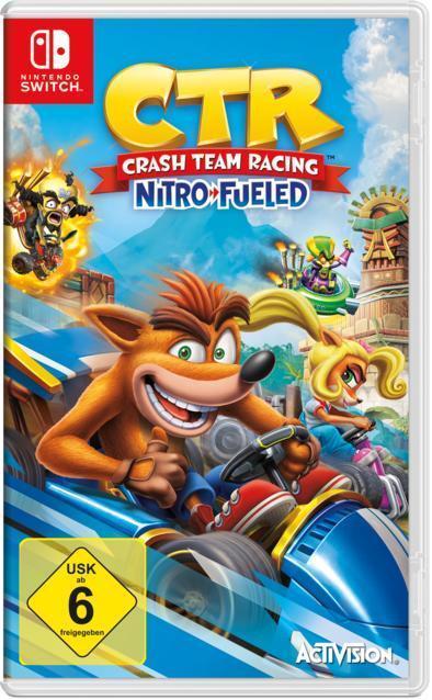 CTR Crash Team Racing Nitro Fueled (Nintendo Switch) für 37,99 Euro
