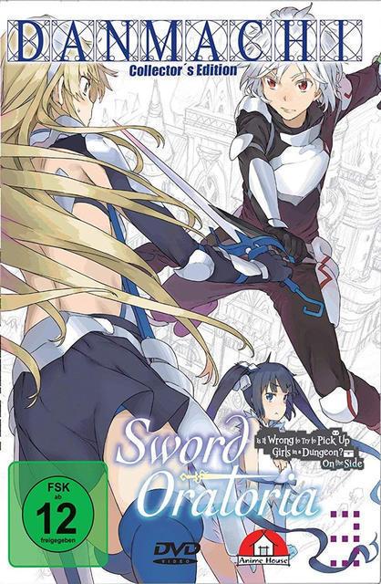 DanMachi - Sword Oratoria - Vol. 3 Limited Collector's Edition (DVD) für 29,99 Euro