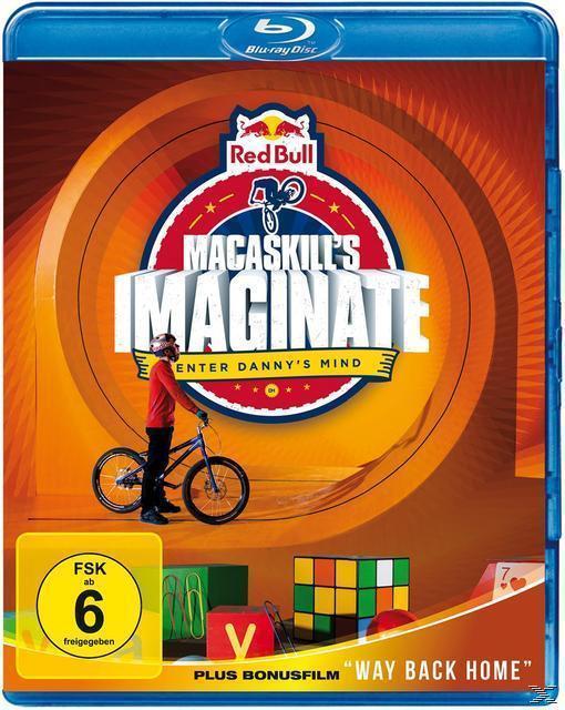 Danny MacAskill: Imaginate / Way back home (BLU-RAY) für 11,00 Euro