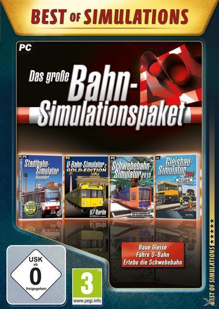 Das große Bahn-Simulationspaket (PC) für 9,99 Euro