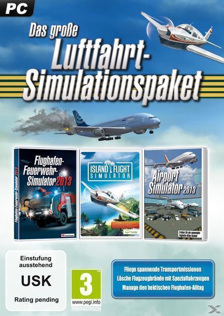 Das große Luftfahrt-Simulations-Paket (PC) für 14,99 Euro