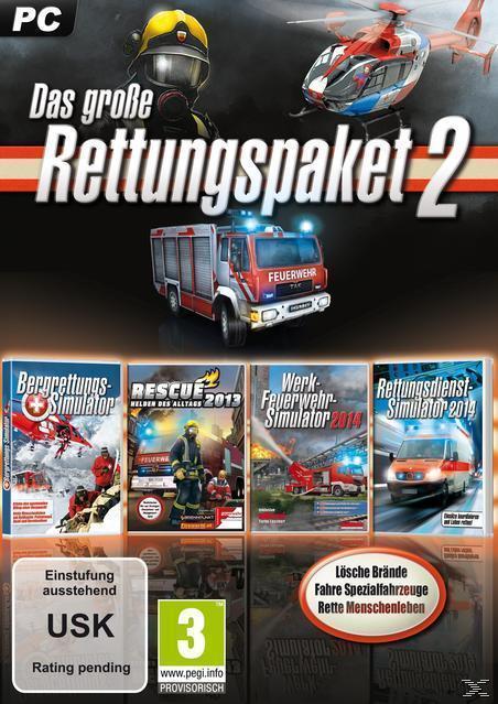 Das große Rettungs-Simulationspaket 2 (PC) für 14,99 Euro