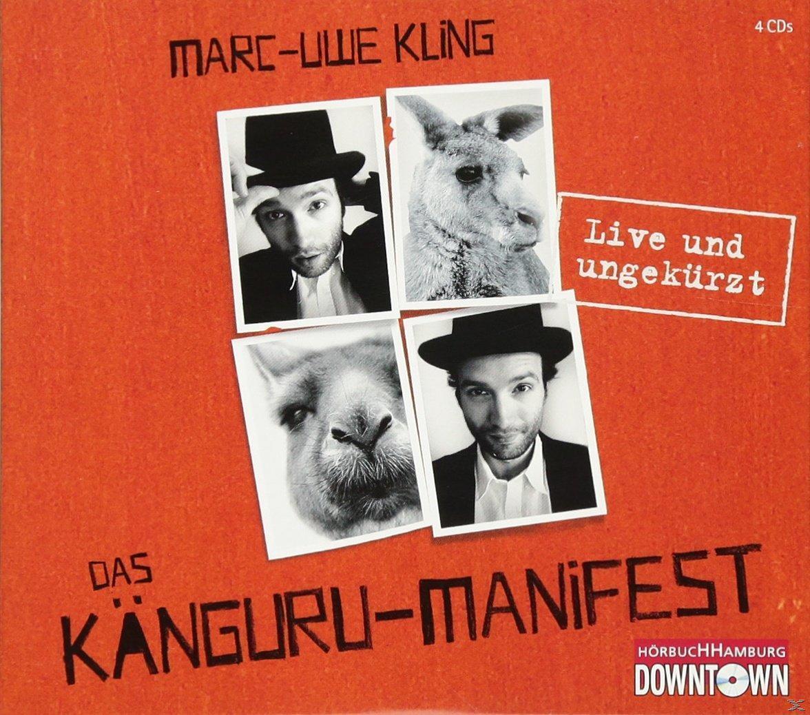 Das Känguru-Manifest (CD(s)) für 15,99 Euro