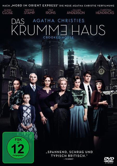 Das Krumme Haus (DVD) für 12,99 Euro