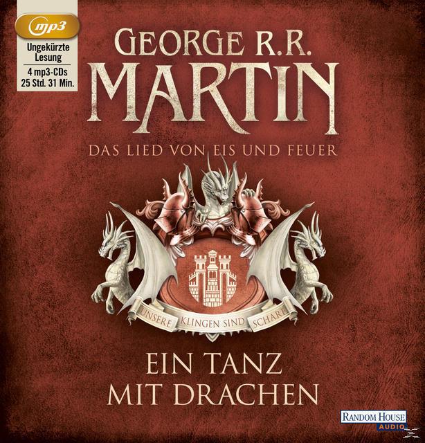 Das Lied von Eis und Feuer 10: Ein Tanz mit Drachen (MP3-CD(s)) für 23,99 Euro