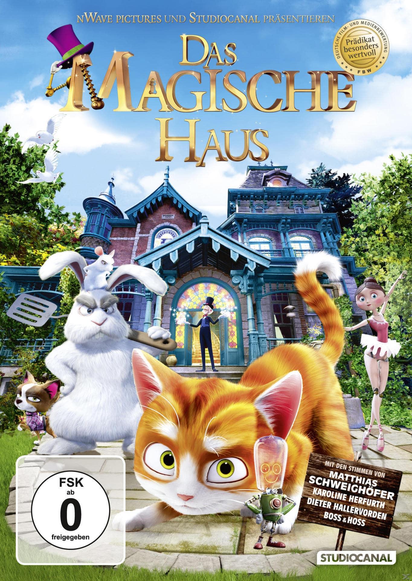 Das magische Haus (DVD) für 7,99 Euro