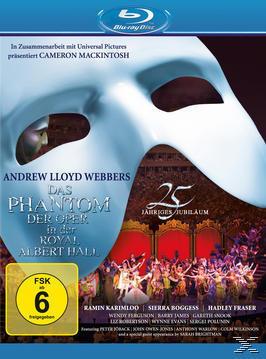 Das Phantom der Oper - 25th Anniversary (BLU-RAY) für 13,99 Euro