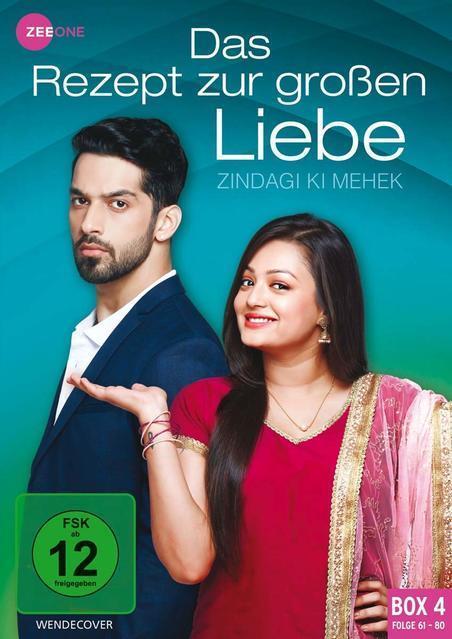 Das Rezept zur großen Liebe - Zindagi ki Mehek - Box 4 DVD-Box (DVD) für 16,99 Euro