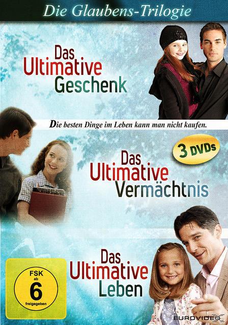 Das Ultimative Geschenk, Das Ultimative Leben, Das Ultimative Vermächtnis DVD-Box (DVD) für 9,99 Euro