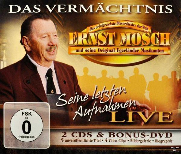 Das Vermächtnis-Seine Letzten Aufnahmen Live (Ernst Mosch) für 23,49 Euro
