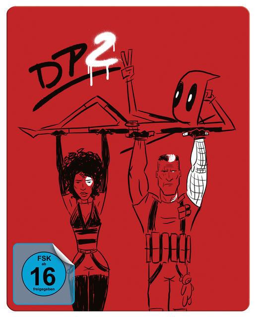 Deadpool 2 Steelbook (BLU-RAY) für 24,99 Euro