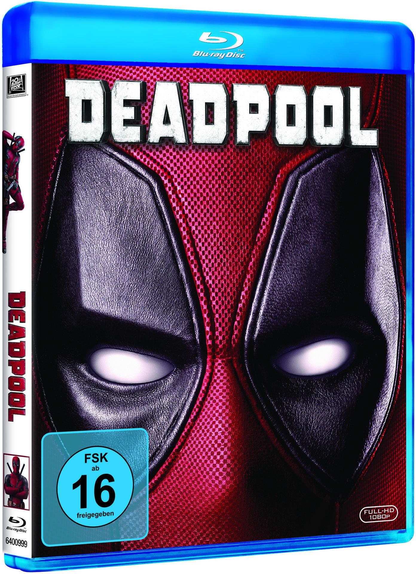 Deadpool (BLU-RAY) für 18,99 Euro