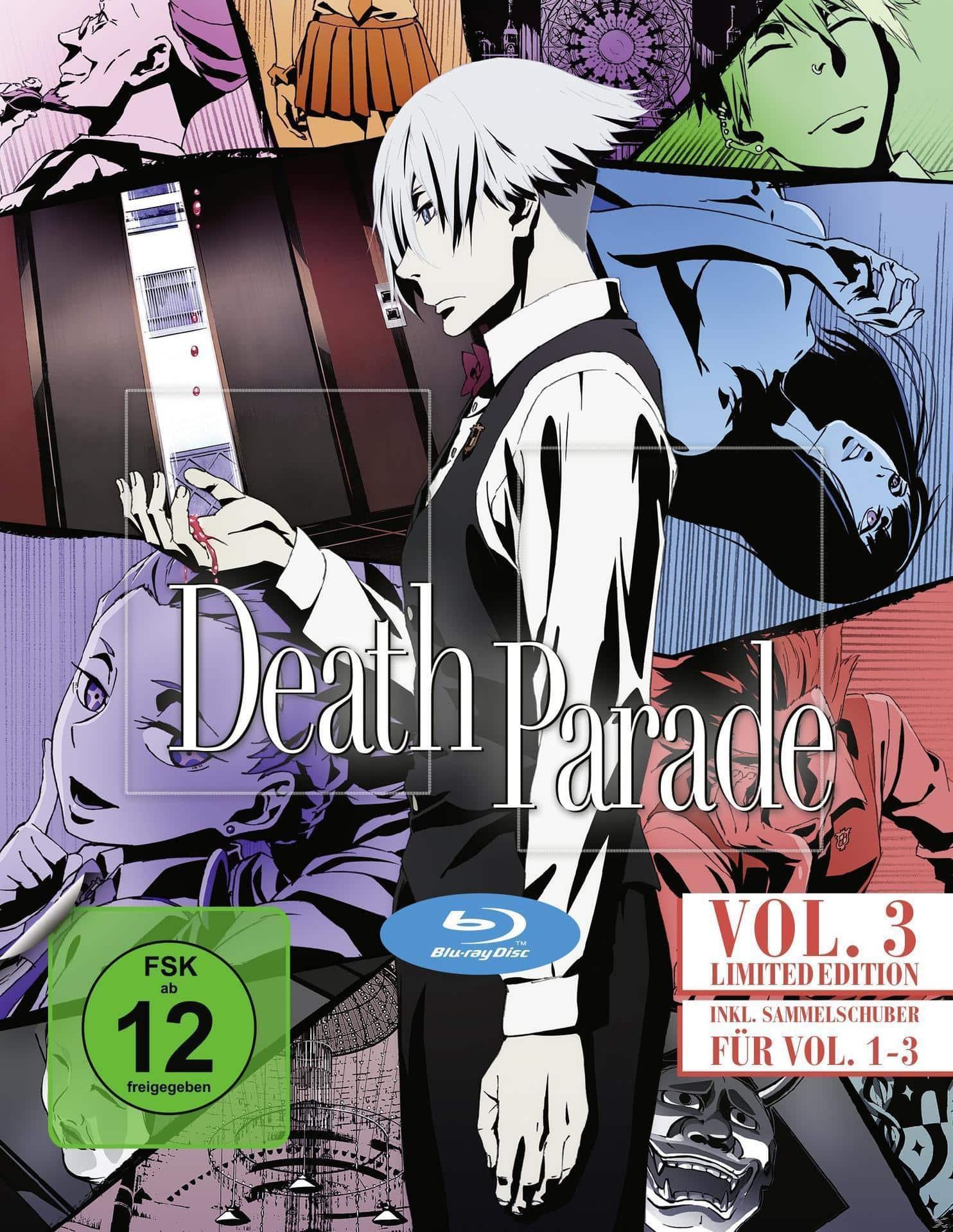 Death Parade - Vol. 3 Limited Edition (BLU-RAY) für 29,99 Euro