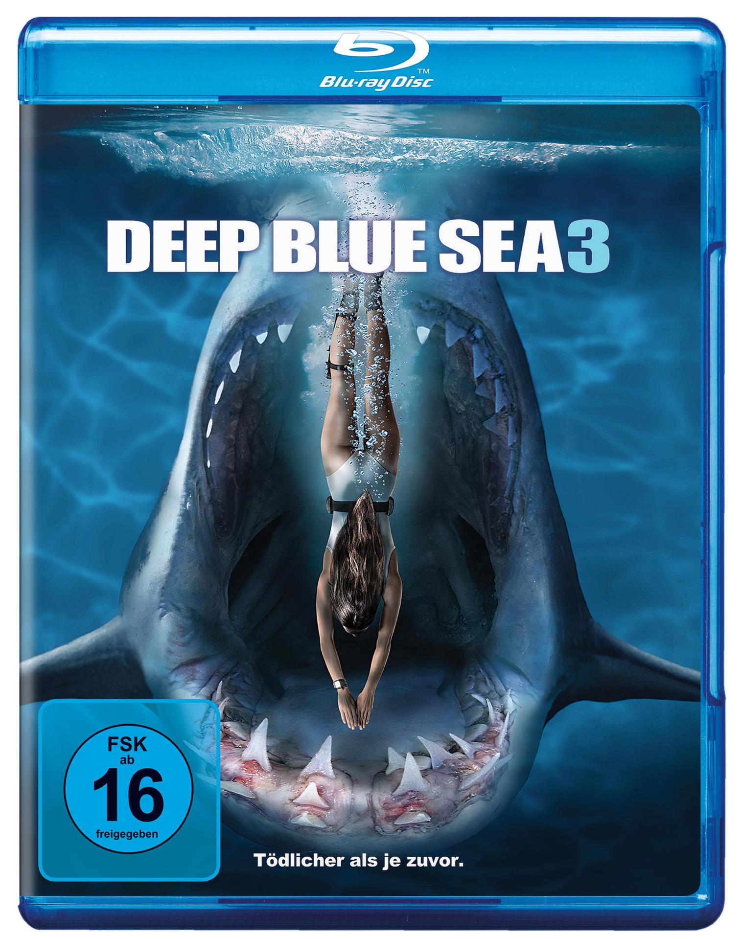 Deep Blue Sea 3 (BLU-RAY) für 9,74 Euro