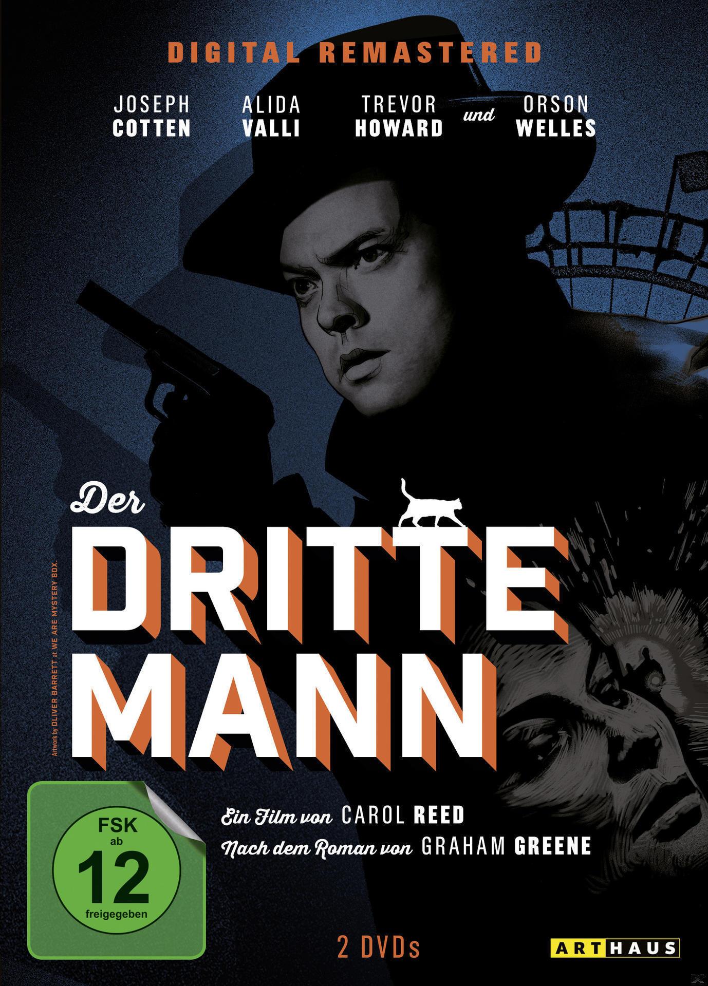 Der dritte Mann Digital Remastered (DVD) für 7,99 Euro