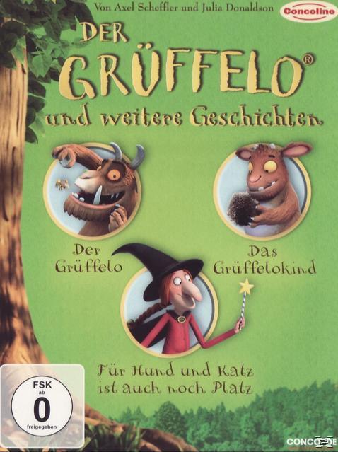Der Grüffelo und weitere Geschichten (DVD) für 14,99 Euro