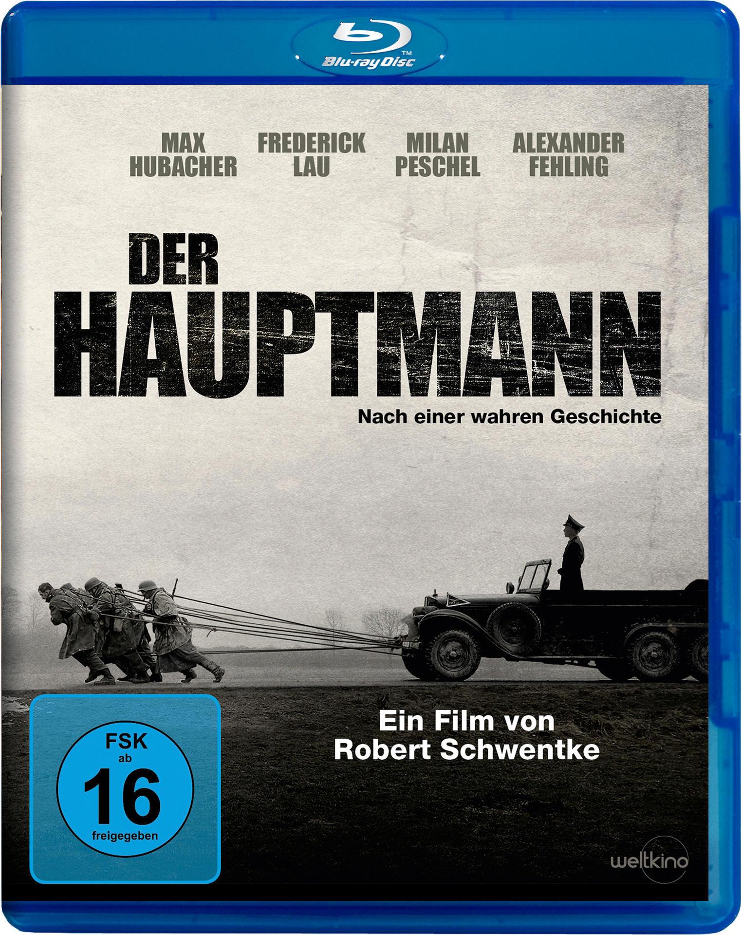 Der Hauptmann (BLU-RAY) für 14,99 Euro