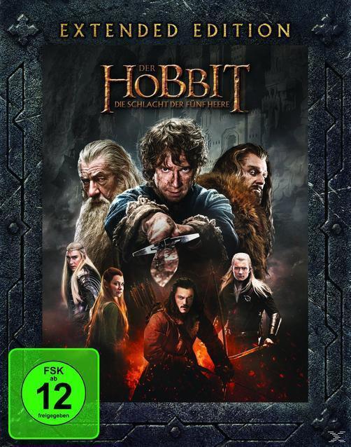 Der Hobbit: Die Schlacht der fünf Heere Extended Edition (BLU-RAY) für 22,99 Euro