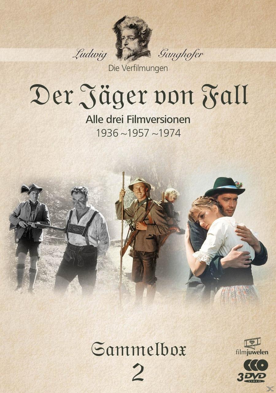 Der Jäger von Fall (1936, 1957, 1974) - Die Ganghofer Verfilmungen - Sammelbox 2 (DVD) für 15,99 Euro