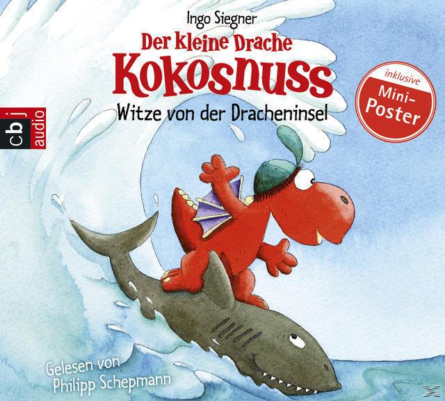 Der kleine Drache Kokosnuss - Witze von der Dracheninsel Band 1 (CD(s)) für 7,99 Euro
