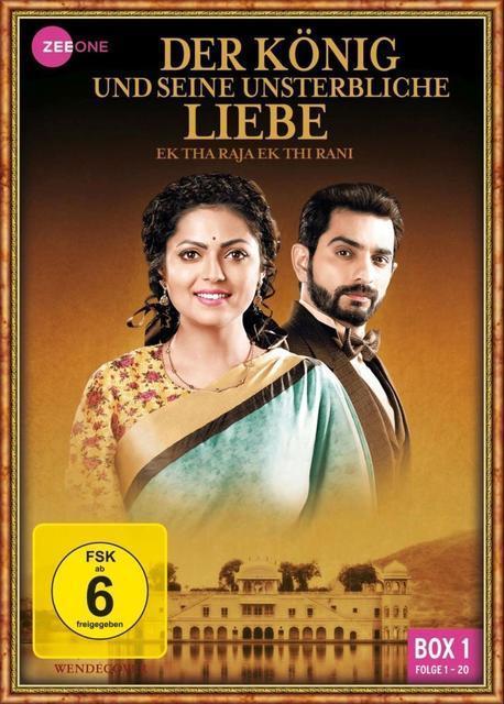 Der König und seine unsterbliche Liebe - Ek Tha Raja Ek Thi Rani (Box 1 - Folge 1-20) DVD-Box (DVD) für 14,99 Euro