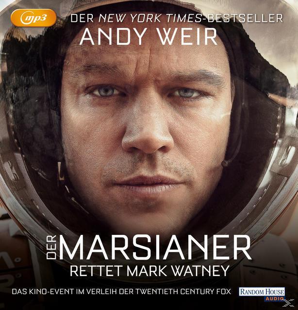 Der Marsianer (MP3-CD(s)) für 15,99 Euro
