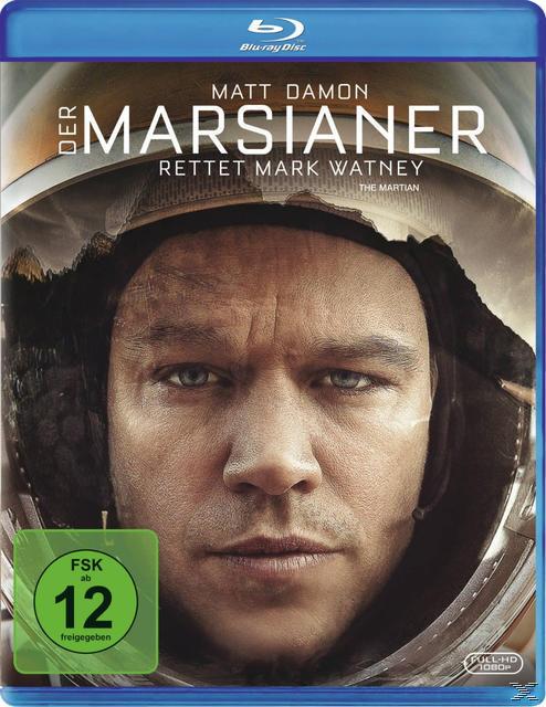 Der Marsianer - Rettet Mark Watney ProSieben Blockbuster Tipp (BLU-RAY) für 7,99 Euro
