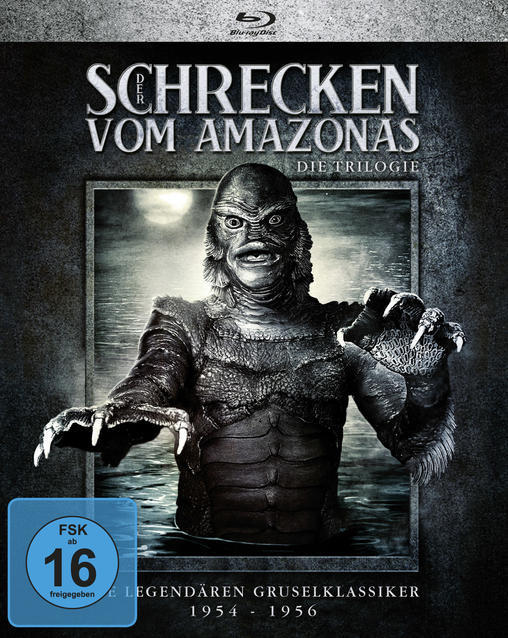 Der Schrecken vom Amazonas - Die Trilogie (BLU-RAY) für 49,00 Euro