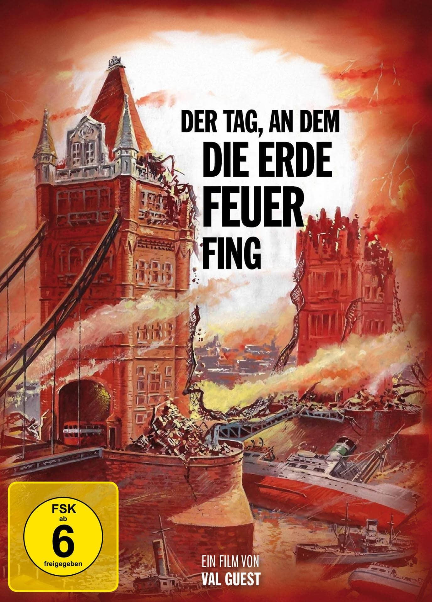 Der Tag, an dem die Erde Feuer fing Mediabook (BLU-RAY + DVD) für 23,99 Euro