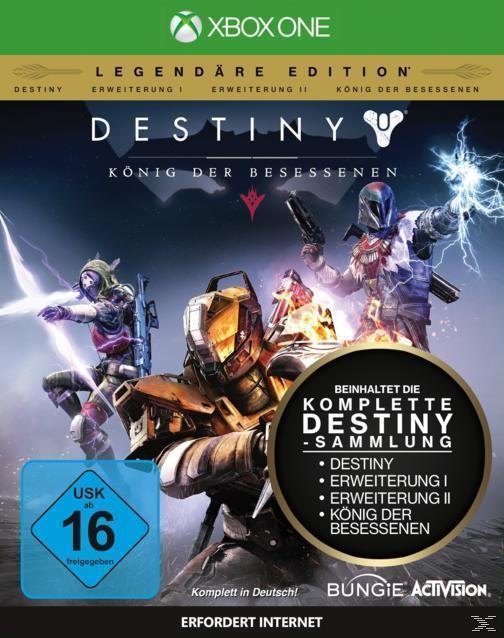 Destiny: König der Besessenen - Legendäre Edition (Xbox One) für 29,00 Euro