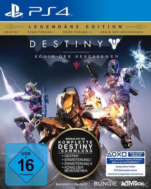 Destiny: König der Besessenen - Legendäre Edition (PlayStation 4) für 62,99 Euro