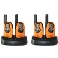 DeTeWe Outdoor 8000 Quad Case Funkgeräte 8 Kanäle 9km Reichweite 5 Ruftöne für 179,99 Euro