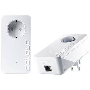 Devolo Dlan 1200+ Starter Kit Powerline 1200 Mbit/s integrierte Steckdose für 111,00 Euro